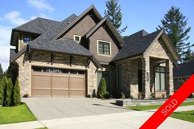 Surrey House for sale: MORGAN HEIGHTS 4 bedroom 4,159 sq.ft. (Listed 2011-04-08)