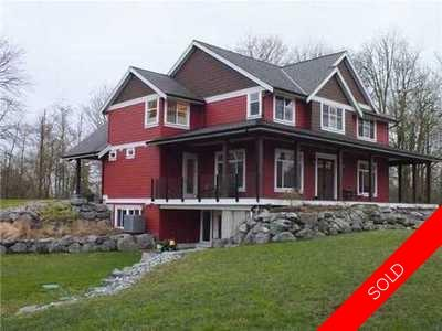 Campbell Valley House for sale:  5 bedroom 4,896 sq.ft. (Listed 2014-02-26)